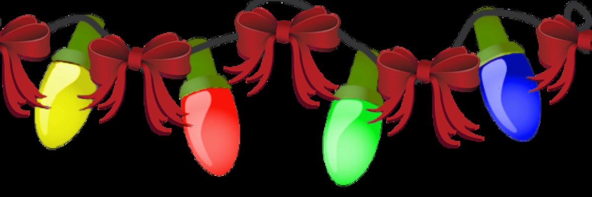 Animated christmas lights gif